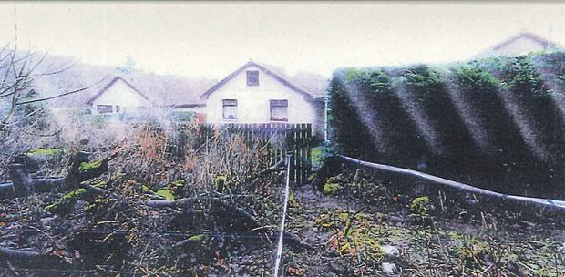 Undated handout photo issued by Crown Office of an image that was shown the deposition site in Kirkcaldy, Fife where the body of Mikaeel Kular was found