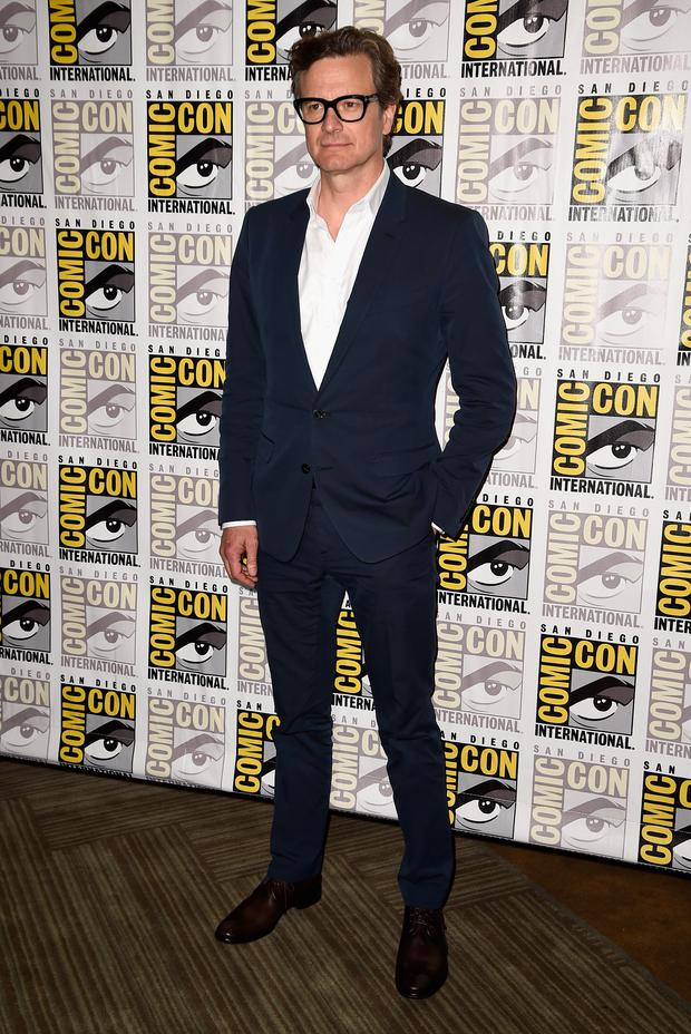 Actor Colin Firth attends 20th Century Fox Press Line during Comic-Con International 2014 at Hilton Bayfront