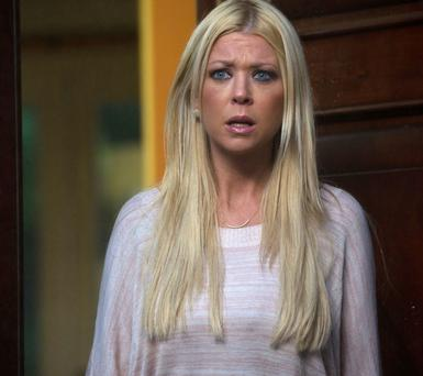 Tara Reid as April in the Syfy Original Movie,