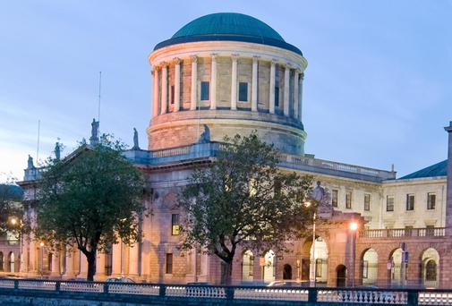 The Four Courts in Dublin.