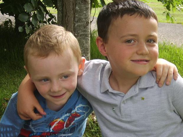 Ian and his brother Jack