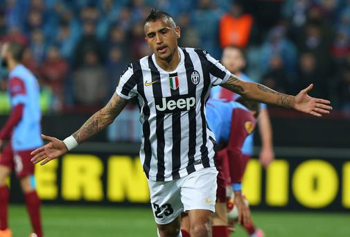 Arturo Vidal could be the answer to all of Manchester United's problems in midfield