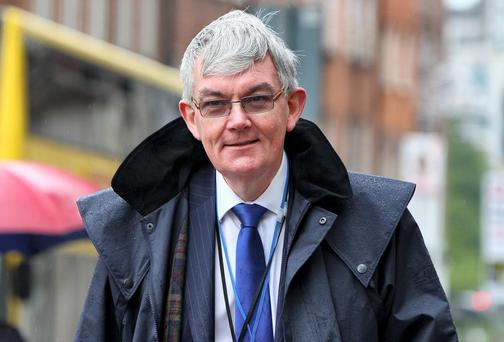 Dr McLoughlin announced he is to step down from the top post but will stay in the department until he retires next June