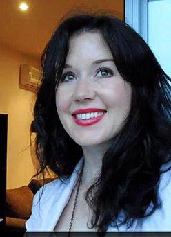 Irish woman Jill Meagher who was murdered in Melbourne. Pic Ciara Wilkinson.