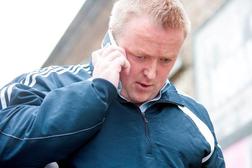Brian Mulvihill leaving Dublin Circuit Criminal Court