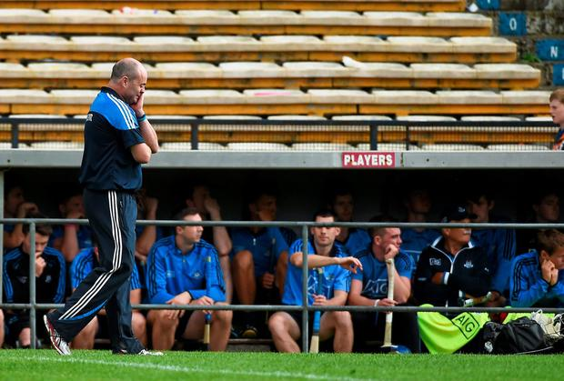 Dublin manager Anthony Daly is considering his future at the helm in the wake of his team's championship exit. Photo: Diarmuid Greene / SPORTSFILE