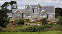 Ivor Callely's holiday home in Kilcrohane in West Cork