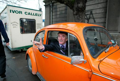 Ivor Callely in his former constituency of Dublin North Central