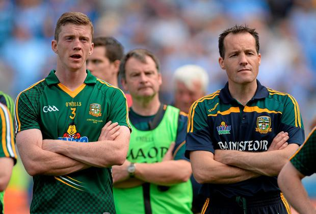 Meath captain Kevin Reilly