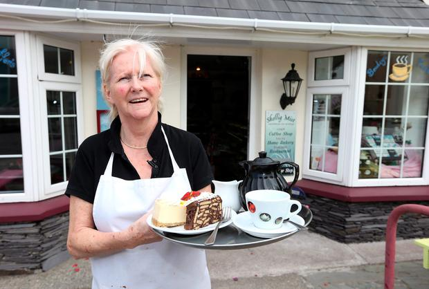 Eileen Whelan, owner of Skellig Mist Cafe, in Portmagee, Co. Kerry, Eileen is providing catering for the cast and crew of Star Wars who are filming on Skellig Island. Picture: Damien Eagers