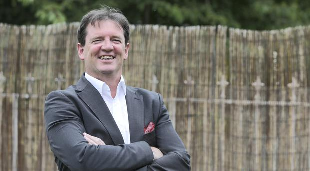 Sean Hyland - owner of Candelas which provides low energy lighting solutions for businesses and homes. Picture; Damien Eagers
