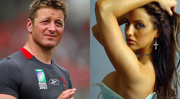 Welsh rugby player Ian Gough denies assaulting former girlfriend Sophia Cahill