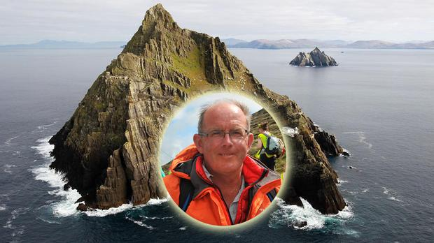 Archaeologist Michael Gibbons has criticised the use of Skellig Michael for filming
