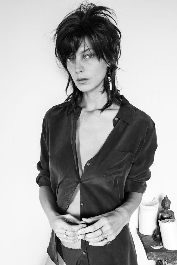 Daria Werbowy for Equipment