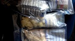Drugs seized at house in Thurles