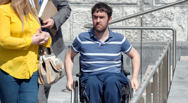 Vincent O'Driscoll at Cork Court today. Photo: Michael MacSweeney/Provision