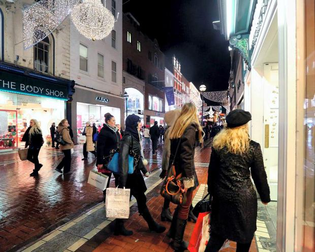 Grafton Street in Dublin has seen a host of tenants seeking lower rents from landlordsof