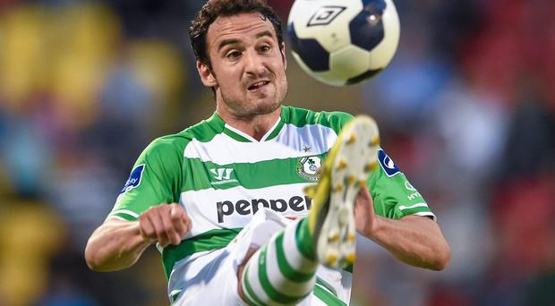 Eamon Zayed could be on his way to Limerick as Shamrock Rovers look to make room for Spanish striker Ruben Perez Ortega. Photo: Matt Browne / SPORTSFILE
