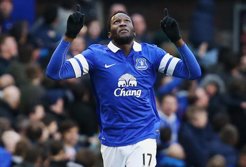 Romelu Lukaku has made a permanent move to Everton after the Toffees agreed a £25m deal with Chelsea for the Belgian striker. Photo: Jan Kruger/Getty Images