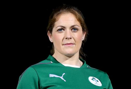 Ireland captain Fiona Coghlan can't wait to play against New Zealand. Photo: NPHO/James Crombie