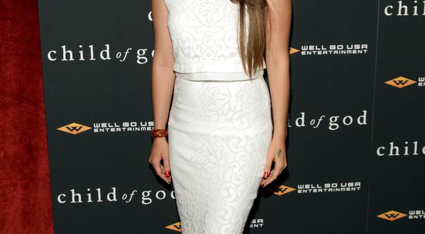 Recording artist Lana Del Rey attends the premiere of