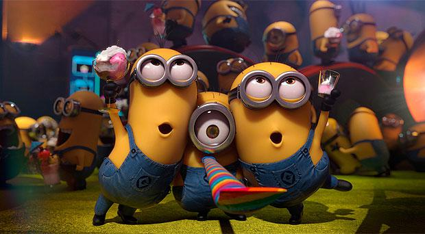 'Despicable Me 2' is the most popular in-car movie for kids according to a new survey