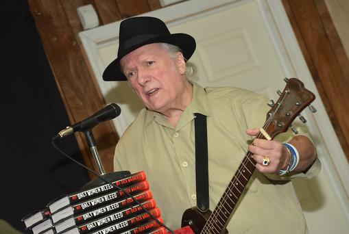 Musician/songwriter Dick Wagner performs while promoting the new book
