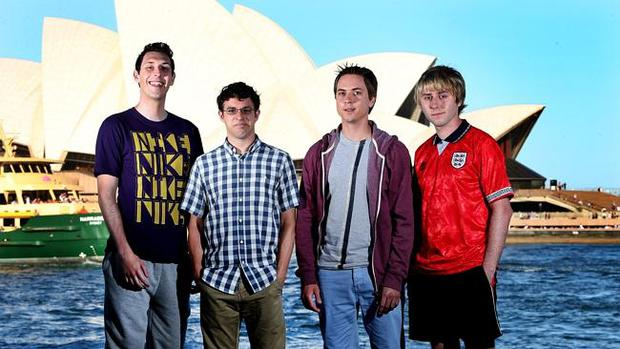 The Inbetweeners in Australia