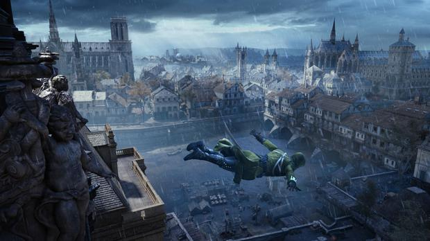 Assassin's Creed Unity - Leap of Faith at Hotel DeVille