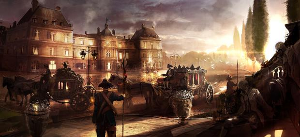 Assassin's Creed Unity - Palais Du Luxembourg Artwork