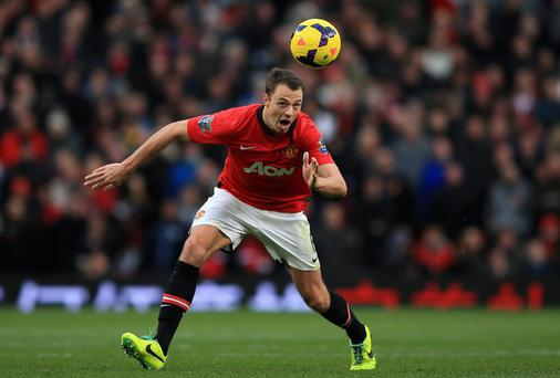 Jonny Evans has impressed Louis van Gaal and seems certain to feature as one of Manchester United's three centre-backs. Photo credit: Richard Heathcote/Getty Images