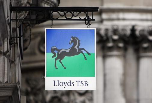 In the mortgage market, Lloyds said its average Irish home loan is no longer in negative equity