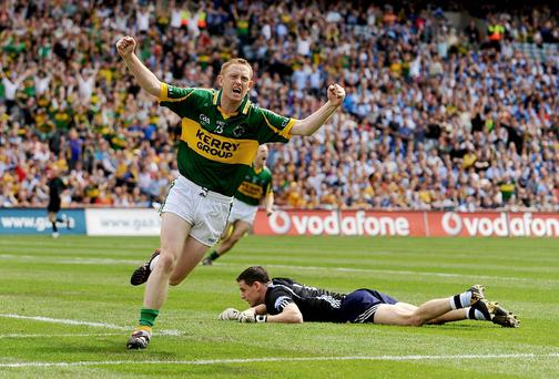 Kerry's Colm Cooper, shocked the Dubs with a goal after just 40 seconds in the All-Ireland SFC Quarter-Final five years ago. Picture credit: Stephen McCarthy / SPORTSFILE