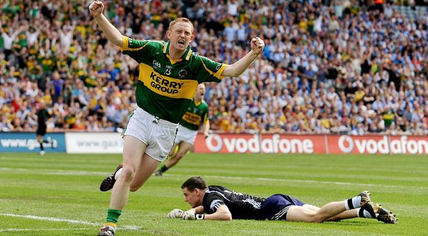 Kerry's Colm Cooper and Dublin goalkeeper Stephen Cluxton make the Dream Team selection