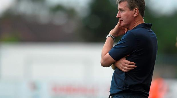 Stephen Kenny has overseen a Dundalk run that has seen the Lilywhites lose only one of their last 15 matches. DAVID MAHER / SPORTSFILE
