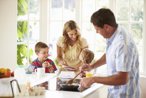 New research shows one-in-four families have outgrown their homes. Thinkstock Images