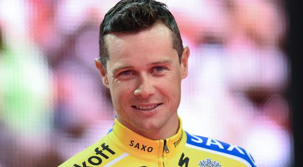 Irish cyclist Nicolas Roche has been linked with a move to Team Sky after two years with Tinkoff Saxo. Picture credit: Stephen McMahon / SPORTSFILE