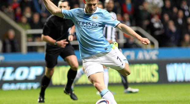 James Milner was a key player in Manchester City's title run-in last season but feels he should be playing more regularly at this stage in his career. Photo credit: Ian Horrocks/Getty Images