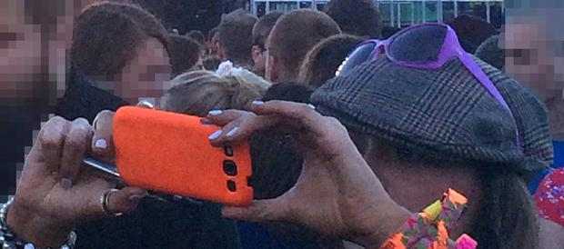 Police handout photo of a woman they believe might have filmed the man who killed a Robert Hart at the Parklife music festival