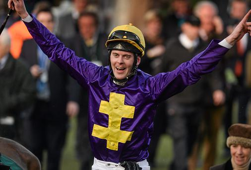 Jockey Robbie McNamara will be teaming up with Dermot Weld's Call Vinnie in the Ladbrokes Top Treble Flat Race. Picture credit: Barry Cregg / SPORTSFILE