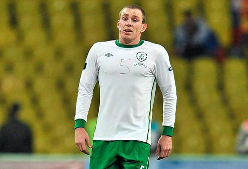 Richard Dunne's performance in Moscow cemented his place in Irish fans' affections. Picture credit: David Maher / SPORTSFILE