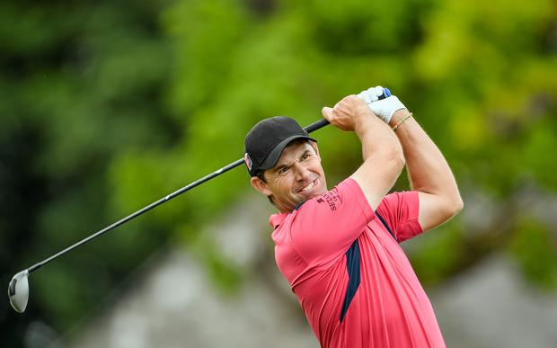 Padraig Harrington played aggressively at Montreuz and reaped the rewards. (Brendan Moran / SPORTSFILE)