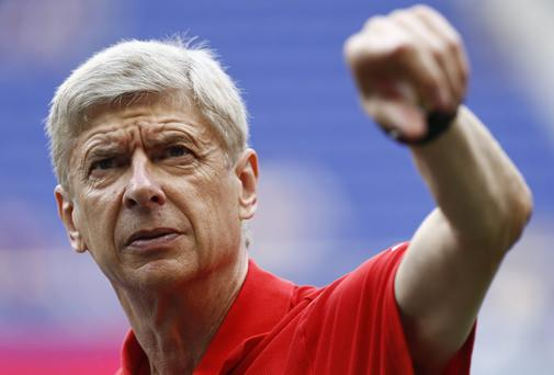 Arsene Wenger claims the balance of power in English football is shifting. Photo by Jeff Zelevansky/Getty Images
