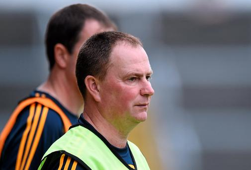 CALLING: Dermot Hogan took over as Offaly U-21 manager earlier this year. Photo: Matt Browne