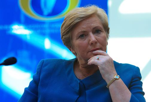 Justice Minister Frances Fitzgerald: no personnel changes so far