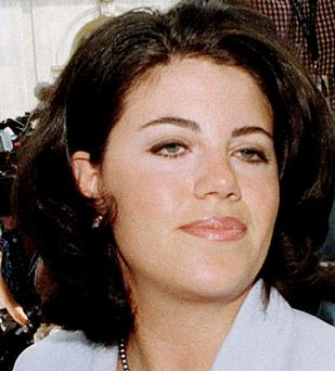 Former White House intern Monica Lewinsky is pictured arriving at her lawyer's offices in Washington July 28, 1998. Lewinsky, the onetime White House intern whose 1990s affair with Bill Clinton nearly brought down his presidency, recently broke her long silence - saying she regretted what had happened. (REUTERS/Tim Aubry/Files)