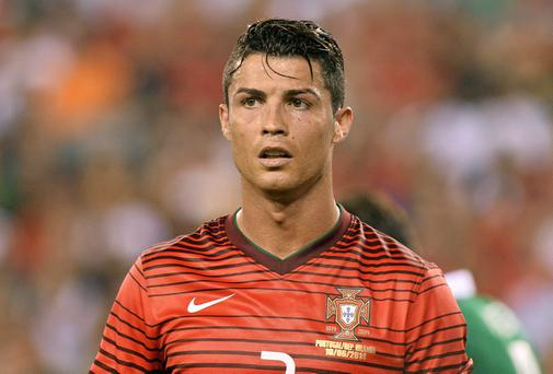 10 June 2014; Cristiano Ronaldo, Portugal. Friendly International, Republic of Ireland v Portugal, MetLife Stadium, New Jersey, USA. Picture credit: David Maher / SPORTSFILE