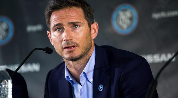 Frank Lampard has joined Manchester City on loan