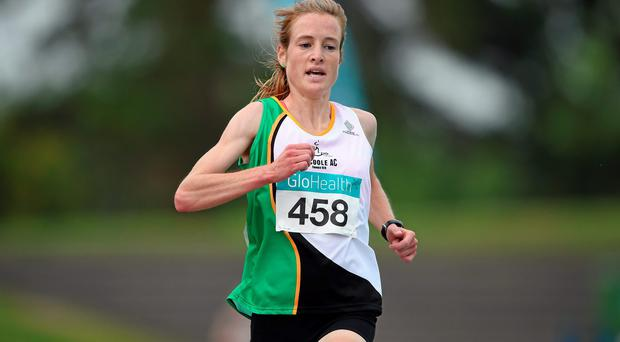 Fionnuala Britton has been tweaking her training in recent months in order to run in the marathon at the European Championships. Photo: Brendan Moran / SPORTSFILE