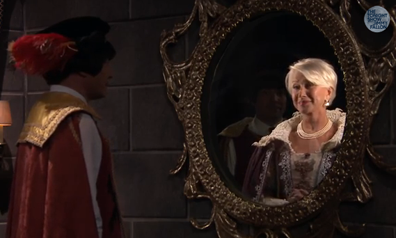 Dame Helen Mirren on The Tonight Show with Jimmy Fallon